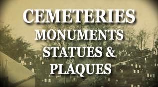 Massachusetts Cemeteries, Monuments, Statues and Plaques