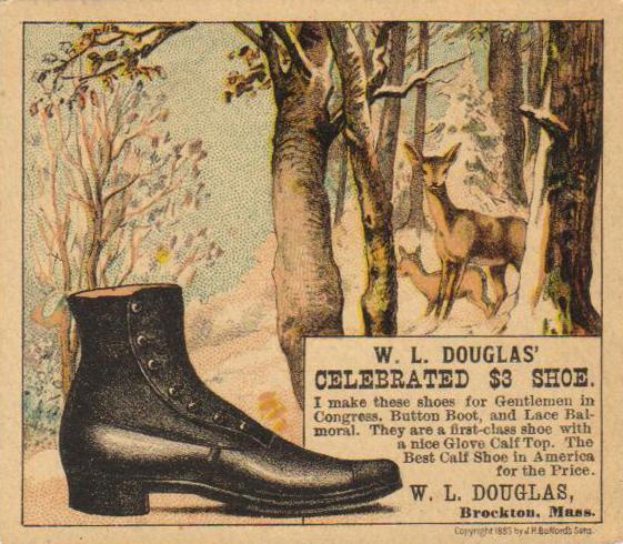 1883 WL Douglas Ad