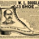 1892 WL Douglas Ad