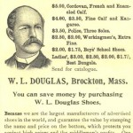 1894 WL Douglas Ad