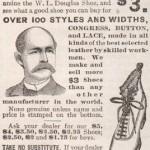 1896 WL Douglas Ad