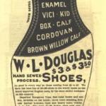 1897 WL Douglas Ad