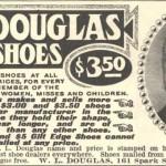 1908 WL Douglas Ad