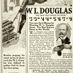 1917 Ad W. L. Douglas