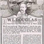 1918 WL Douglas Ad