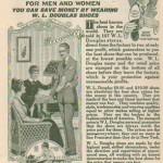 1920 WL Douglas Ad