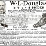 1924 WL Douglas Ad