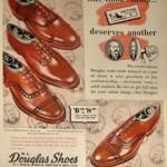 1940s WL Douglas Ad