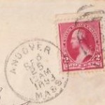 Andover PO Stamp 1893