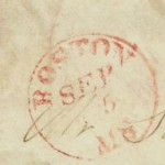 BOSTON PO STAMP 1832