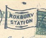 Boston - Roxbury Station 1908