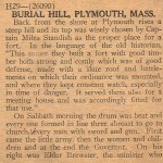 Burial Hill Description