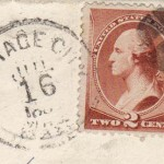 Cottage City 1880's Cancel PO Stamp OAK BLUFFS