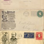 Douglas Envelope Ads - 1892, 1893, 1894, 1905, 1906