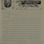 Douglas Letterhead 1892
