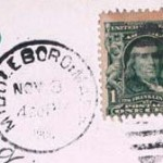 Middleboro stamp PO