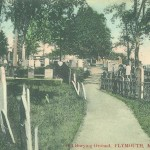 Old Burying Ground - c1909