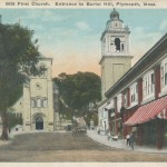 Plymouth Town Square & Burial Hill Tour 4 (1921)