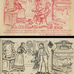 W.L. Douglas Ad Cards
