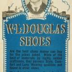 W.L. Douglas Blotter 1930s