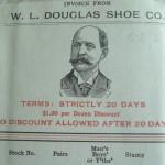 WL Douglas 1909 Invoice Header
