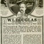 WL Douglas Ad 1918