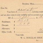 WL Douglas credit