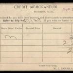 WL Douglas credit memorandum