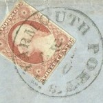 YARMOUTH PORT, PO Stamp 11-22-1854