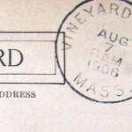 1906 Vineyard Haven & Lynn