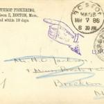 Boston 1886 Return