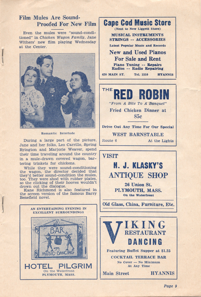 Cape Movie News - August 25, 1939 - pg9