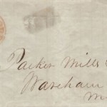 New Bedford to Wareham 1849