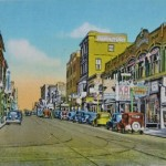 Trolley Lines - New Bedford to Onset 12 (1930s - Purchase Street)