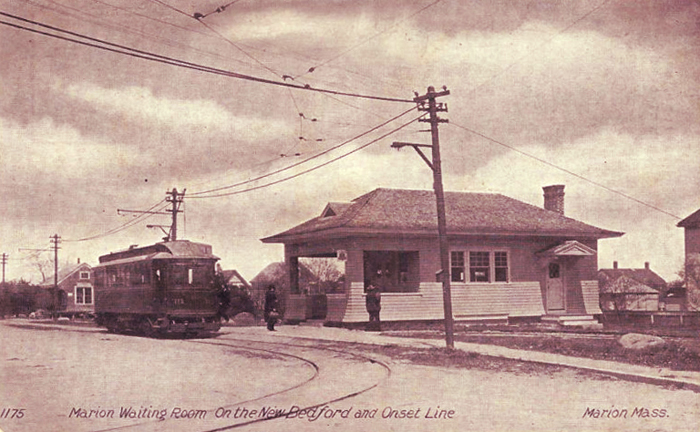 Trolley Lines New Bedford To Onset Massachusetts