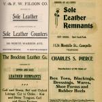 V & FW Filoon 1906 Brockton Directory Ad