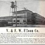 V & FW Filoon 1950s Ad
