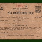 WWII Ration Stamps 1 (Front)