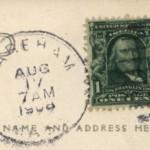 Wareham - August 17, 1908 - 7AM