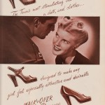 1944 Walk-Over Town Brown Ad