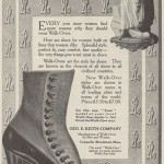Walk-Over Ad - 1913