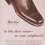Walk-Over Ad 1925