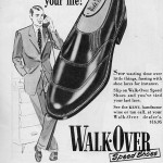 Walk-Over Ad 1952