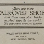 Walk-Over Ad Blotter