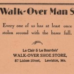 Walk-Over Ad - Lewiston, Maine