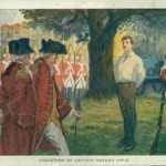 Walk-Over Ad Post Cards 6 - Execution of Nathan Hale