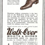 Walk-Over Junior Model Shoe Ad