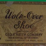 Walk-Over Shoe Ink Blotter