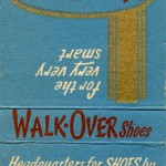 Walk-Over Shoe Store, Harrisburg, Pennsylvania Matchbook
