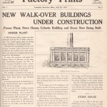 Walkover - 1 (July 25, 1919)